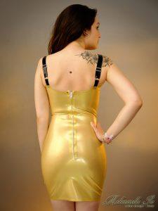 Pentacle dress back