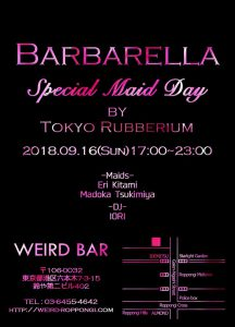 [9/16] Barbarella -Special Maid day- by Tokyo Rubberium