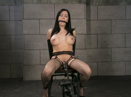 Chair Tied Bondage Orgasms