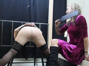 Katharine Bound, Spanked and Tortured
