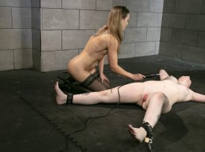 Violet Wand Bondage Orgasms