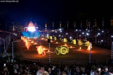 Ritterspiele Feuershow