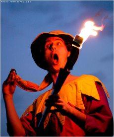 Ritterspiele Feuergaukler