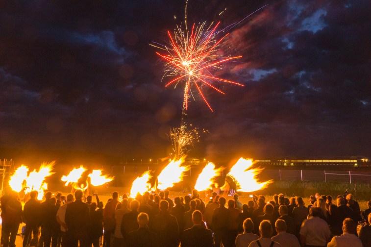 Feuershow Bayern