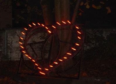 Pyro Herz Hochzeit