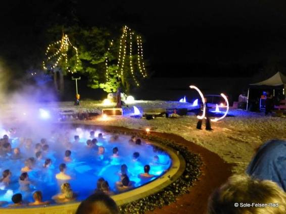 Feuershow Therme
