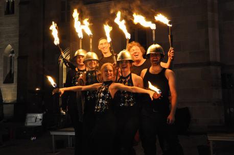 Team SAM&more bei Feuer und Flamme für Heilbronn