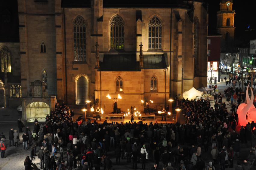 Feuershow Heilbronn