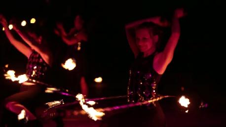 Feuerhoop-Tanz Tabea