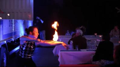 Feuerfakir Team Feuershow Lisa