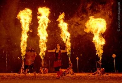 Flammsystem Flammenwerfer SAM&more