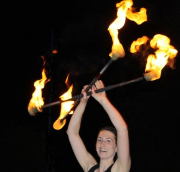 Feuershow Natalie SAM&more