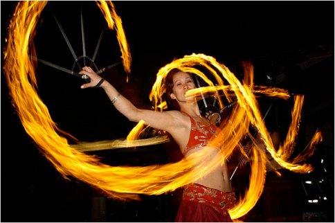 Orient-Feuershow