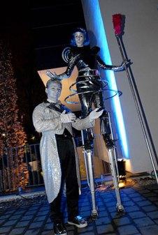 Roboter Walkact Stelzen