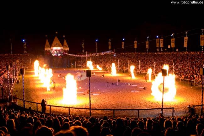 Feuerperformance Kaltenberg Ritterspiele