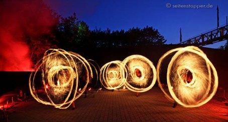Shoppingnacht Firedance