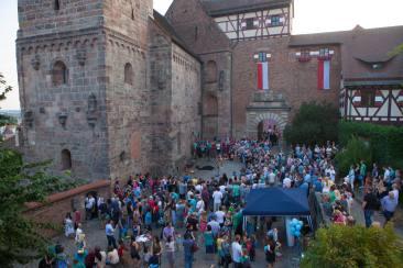 Mittelaltergaukeley auf der Burgnacht Nürnberg
