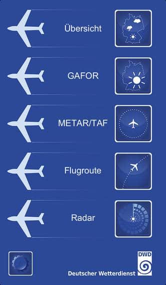 Flugwetter App für Profi-Piloten