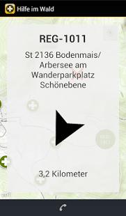 Rettungspunkt Navigation – Hilfe im Wald – Rettungspunkt App