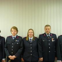 Verantwortliche der Jugendfeuerwehr Arnstadt