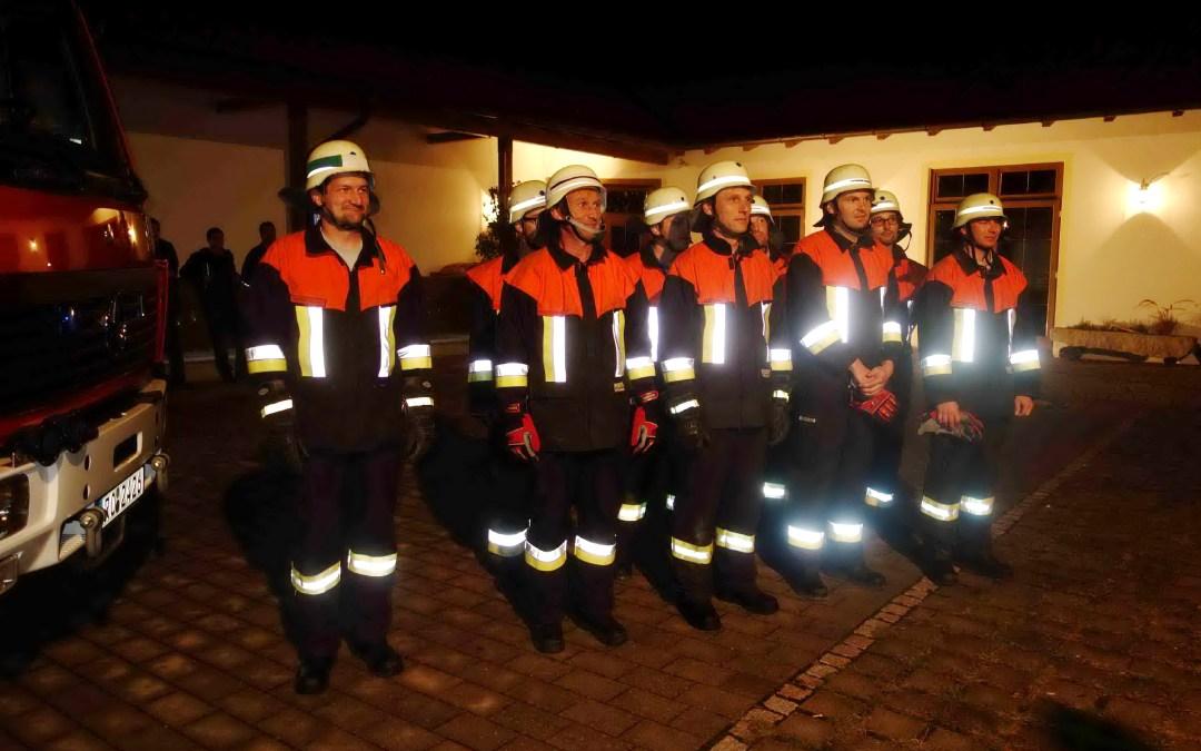 Erfolgreiche Leistungsprüfung bei Feuerwehr Atzing