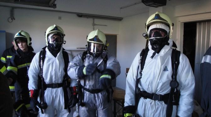 20.10.2012, Atemschutzübung in Mannshalm (Fotogalerie)