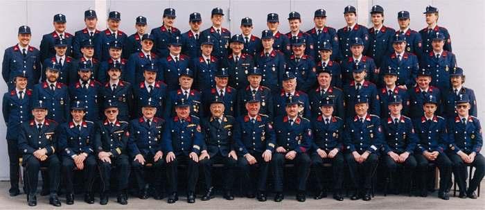 Gruppenbild aus dem Jahr 1991
