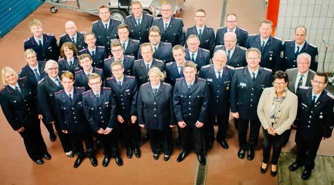 Generalversammlung der Feuerwehr Lohne: Rückblick auf 10.500 Dienststunden