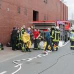 Gefahrgut-Alarm in Schlachterei in Lohne