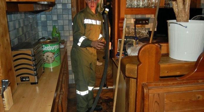 Erster Einsatz im neuen Jahr – Wasserschaden in Einfamilienhaus