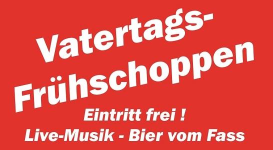 Veranstaltungshinweis: 30.05.2019 – Traditioneller Vatertagsfrühschoppen in Oberbiel
