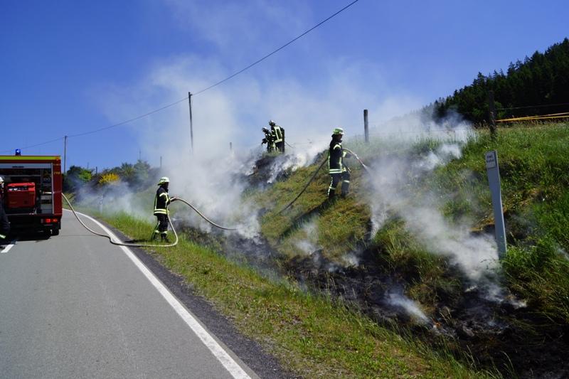 Flächenbrand zwischen Harbecke & Werpe