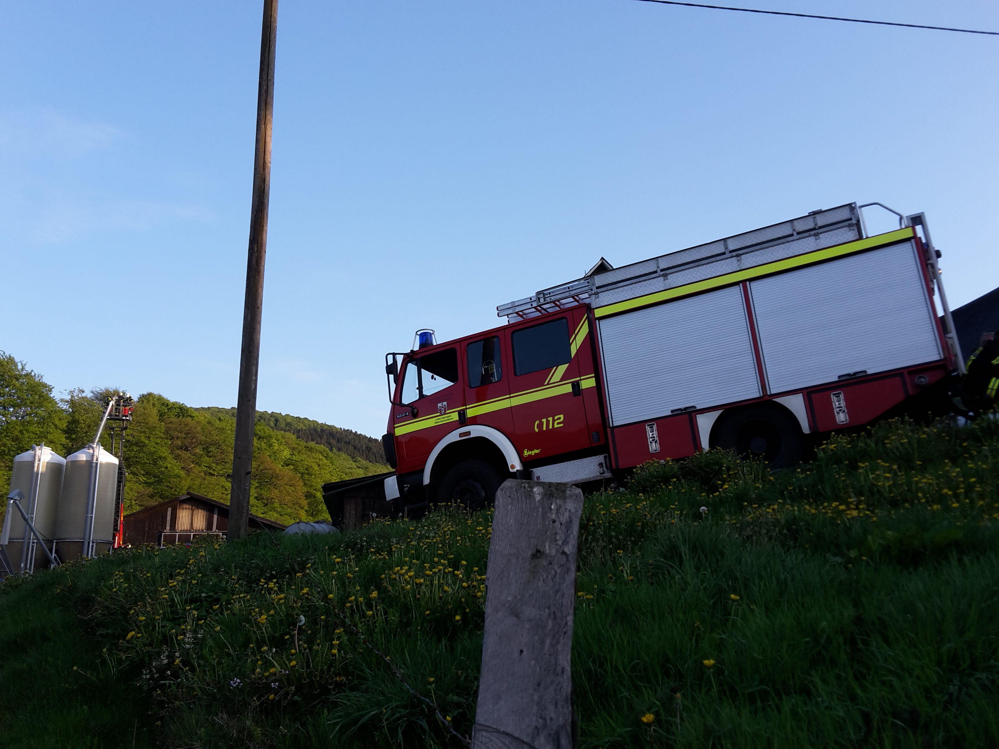 Großübung der Feuerwehr Schmallenberg