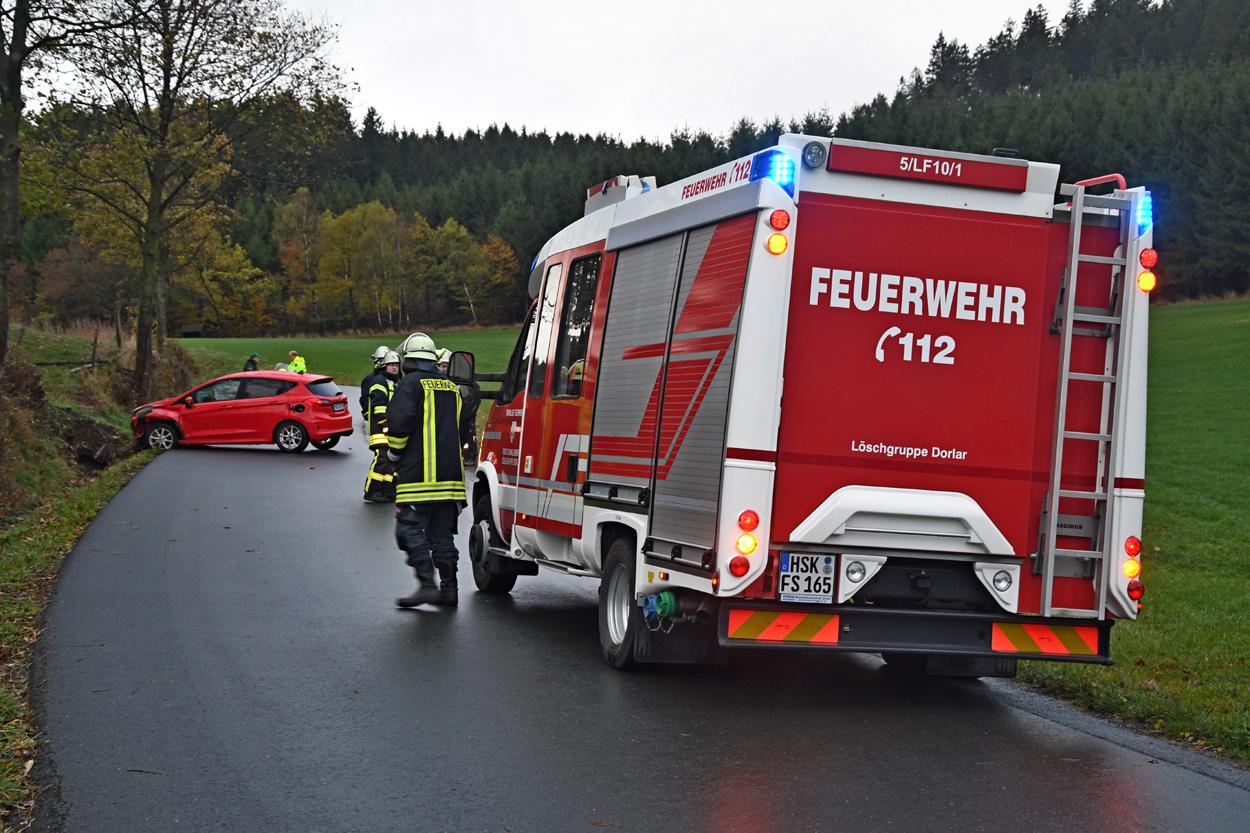ECall alarmiert Feuerwehr und Rettungsdienst zu Verkehrsunfall