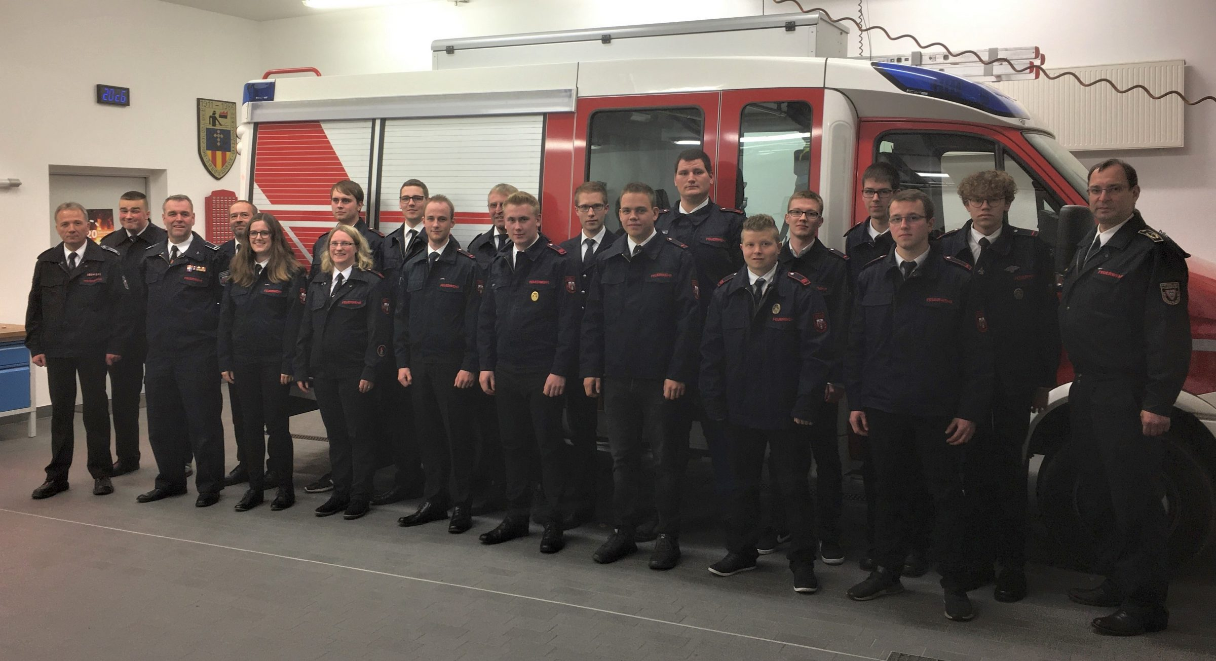 Sprechfunkerlehrgang II/2019 der Freiwilligen Feuerwehr Stadt Schmallenberg in Grafschaft