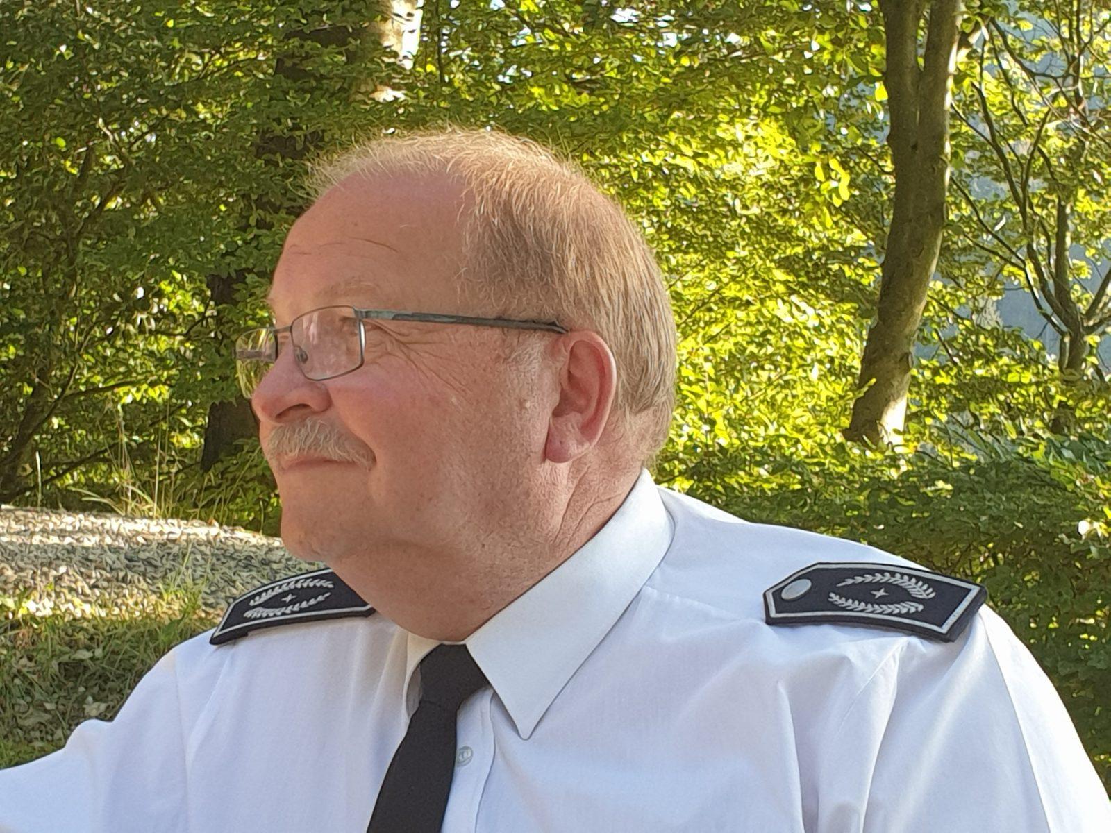Stellv. Leiter der Feuerwehr StBI Reinhard Schauerte verabschiedet