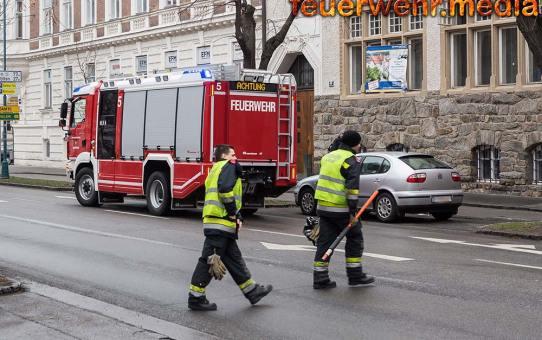 Feuerwehr trennt nach Auffahrunfall zwei verkeilte Fahrzeuge