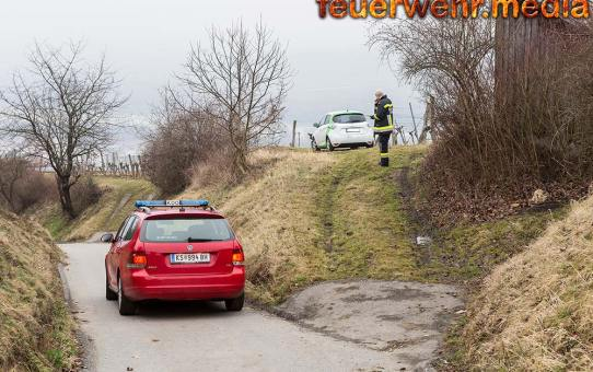 Elektrofahrzeug aus Weingarten befreit
