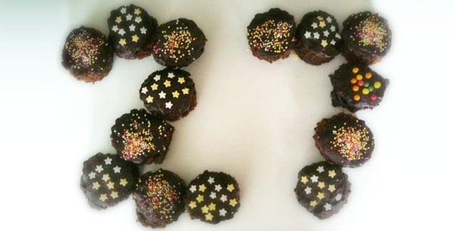 Gateau d'anniversaire original chocolat - Feuille de choux