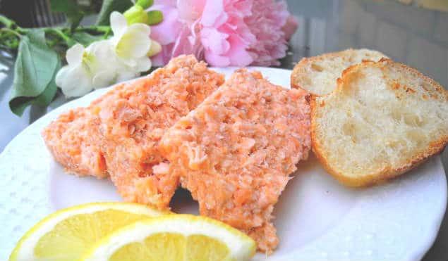 Terrine de saumon recette Feuille de choux