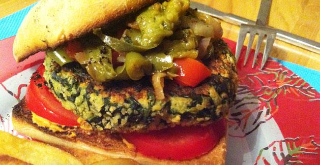 Veggy Burger_feuille de choux