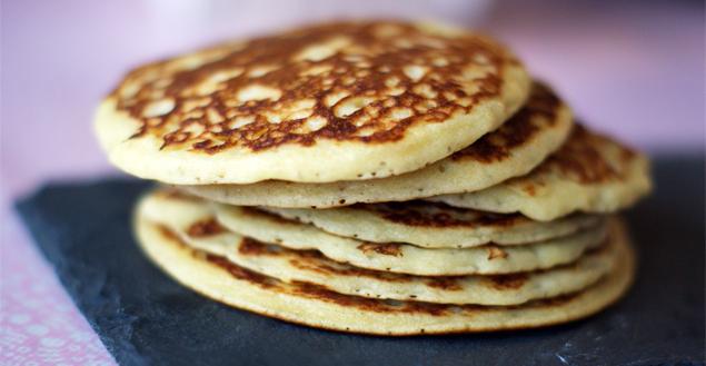 Miam les pancakes pour le brunch! Feuille de choux