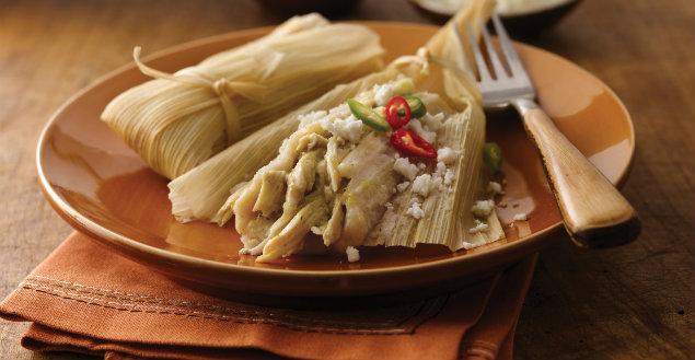 Recette Argentine: Tamales au boeuf, la recette Argentine - Feuille de choux