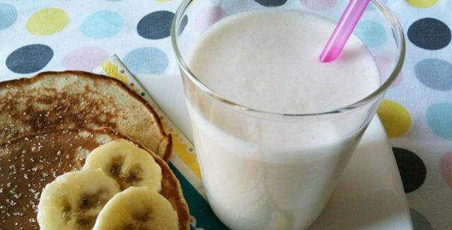 Milkshake banane Feuille de choux