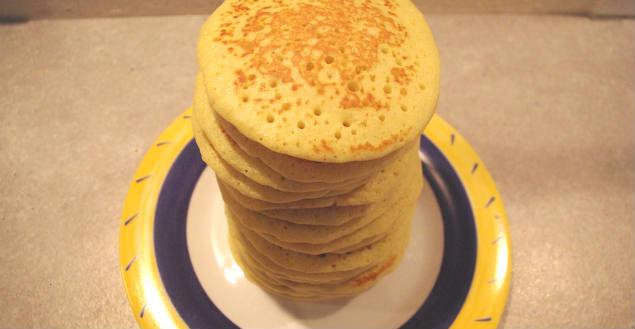 Recette de pancakes recette petit déjeuner-Feuille de choux