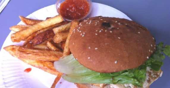 Burger vegetarien strasbourg pied de mammouth-Feuille de choux