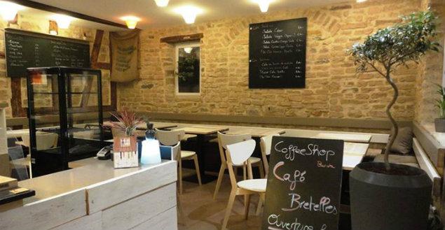 Salle café bretelles strasbourg-Feuille de choux