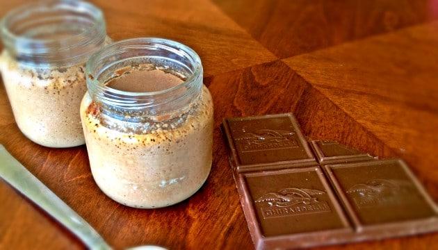 Crème aux oeufs au chocolat parfaite-Feuille de choux