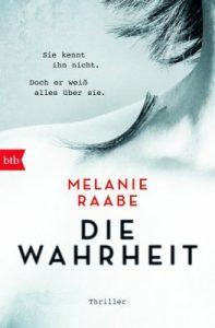 """Heute Abend live im Feuilletonscout: LitCrime Melanie Raabe """"Die Wahrheit"""""""