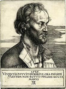 Albrecht Dürer_Reformation_Nürnberg_Melanchthon